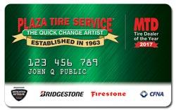 Plaza Tire Service Credit Card
